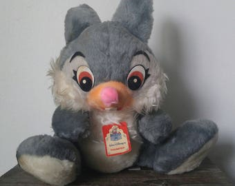 Vintage Disney Parks Thumper from Bambi Plush