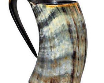 Horn Mugs by Badger Creek