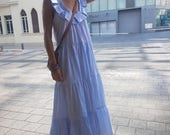 Fashion Dress for Summer, short Sleeves Loose and  Relxed Fit