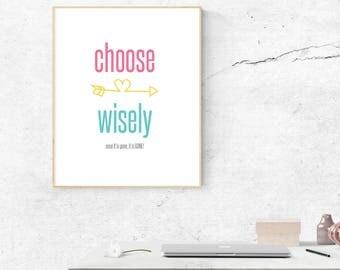 LuLaRoe Choose Wisely Printable