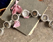 Typewriter Key Bracelet v...