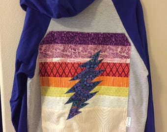 Grateful Dead 13 Point Bolt hoodie large