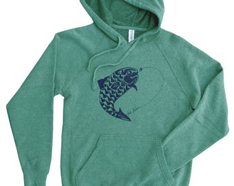 Fish Idaho Sweatshirt - BANANA ink