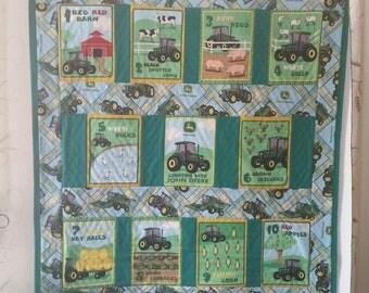 John Deere Quilt or Playmat