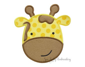 Giraffe patch - Giraffe iron on - Giraffe sew on - Applique - Embroidered Patch - iron on patch - sew on patch - animal patch