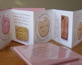 Artists' Books: 'Biscuits - a few crumbs of wisdom', Concertina (Accordion) Book