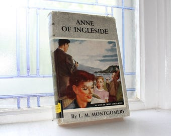 Anne of Ingleside by L M Montgomery Vintage 1939 Book