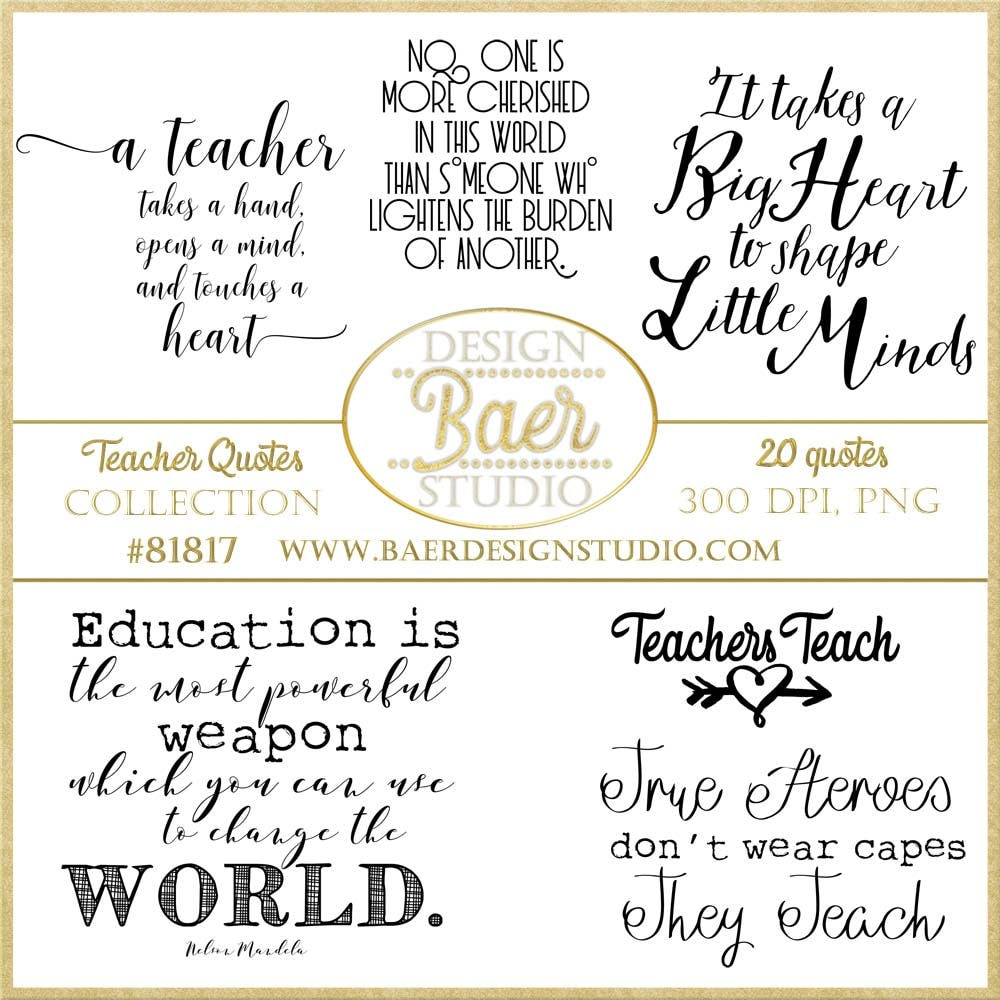 Education Quotes For Teachers Inspirational Teacher Quotes Printable Quotes Teachers Digital