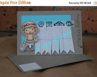 Happy Travels Card with Travel Marci