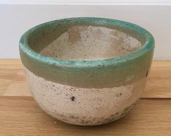 Raku Fired Tea Bowl