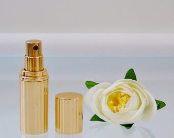 Refillable Perfume Bottle Vintage Estee Lauder Pleasures  Atomizer Spray Empty Purse Size