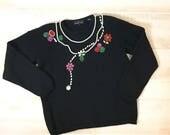 Vintage 80s Oversize Bead...