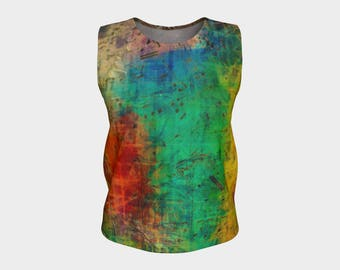 Stylish Tank Top with Savy for Music Lovers - Fifty-Three