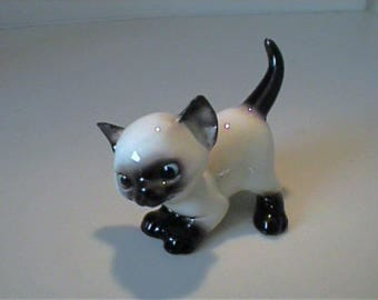 Vintage Designer Workshop Hagen Renaker An How Siamese kitty cat