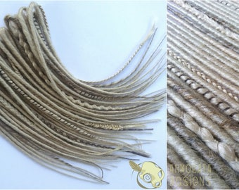 Shield Maiden Double Ended Synthetic Dreads Half Set READY TO SHIP