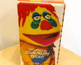 The world of Sid & Marty Krofft 3 VHS set (Total 13 episodes) ((Never been used/ NEW))