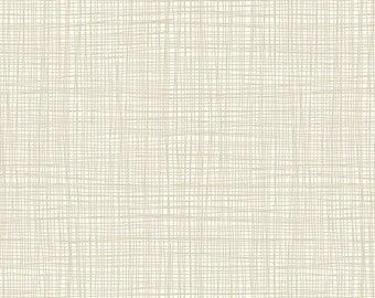 Linea - Linea in Cream - Makower UK for Andover Fabrics - TP-1525-Q - 1/2 yd