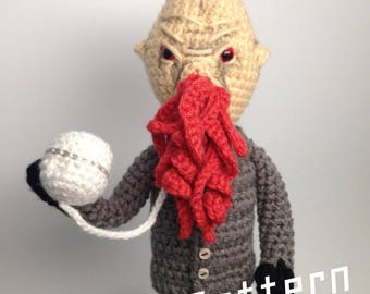 Doctor who Time Travels Ood Crochet doll Amigurumi PATTERN