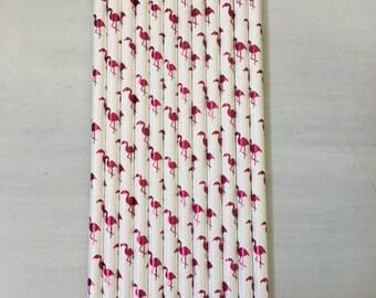 Flamingo Straws ~ Pink Flamingo ~ Foil Flamingo ~ Cocktail Straws ~ Let's Flamingle ~ Flamingo Bachlorette Party