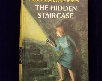 Vintage Nancy Drew The Hidden Staircase #2 Carolyn Keene 1959