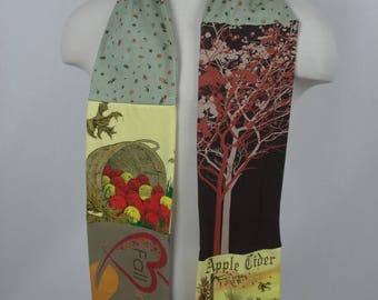 RESERVED autumn scarf