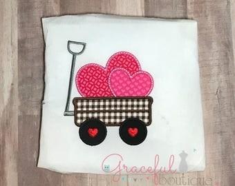 Valentine Wagon, Wagon of Hearts, Heart Wagon