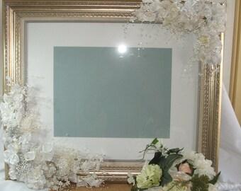 Wedding Gift, Large Decorated Frame