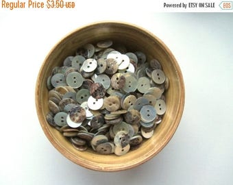 ON SALE 25% OFF Shell buttons 11 mm button nr. 69 | 50 pieces