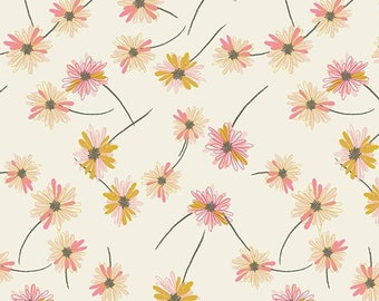 Indie Boheme by Pat Bravo for Art Gallery Fabrics - Gitan Paradis - Pearl - IBH-64200 - Quilt Fabric - Fat Quarter - Cotton Quilt Fabric