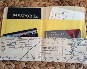 2 Passport Holder, Credit Cards Wedding Gift Honeymoon, Family Passport Cover Passports, International Travel, Travel Accessory, Cruise Fly