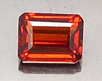0.81 Ct Natural Garnet Spessartine Mandarin Orange