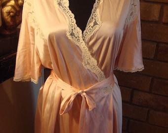 RESERVED Vintage Lingerie Robe