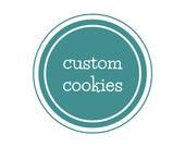 Custom Monster Cookies