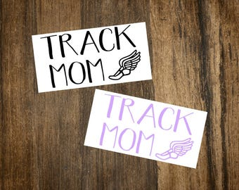 Track Mom Decal | Track Decal | Sports Decal | Car Decal | Laptop Decal | Notebook Decal | Planner Accessory | Phone Decal | Track Mom Gifts