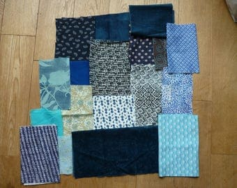 set of fabrics for patchwork 149 coupons