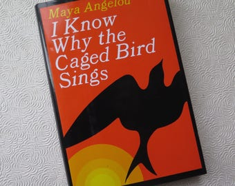Maya Angelou I Know Why the Caged Bird Sings Hardcover Novel Dust Jacket 1997 Special Edition African American Literature Women's Novel