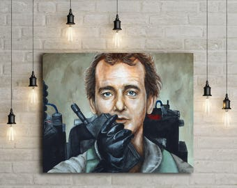 Canvas Print of Dr. Peter Venkman from Ghostbusters