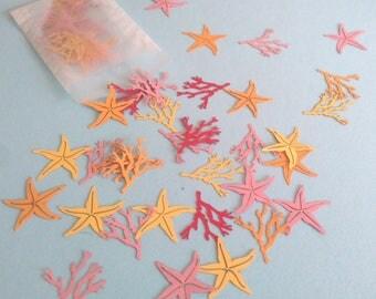 Mermaid Confetti - Under the Sea Party - Beach Party Decor - Table Confetti - Mermaid Party - Table Scatter - Starfish Confetti