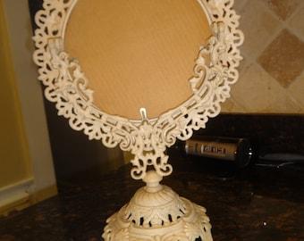Antique Tole Mirror