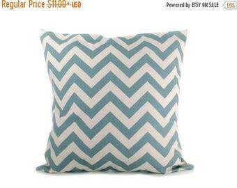15% Off Sale PILLOWS. Blue Pillow Covers,  Village Blue - Blue Pillow Cover - Throw Pillow covers  Throw Pillows Decorative pillow Accent pi