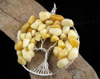 Tree of Life Pendant - River Stones Tree
