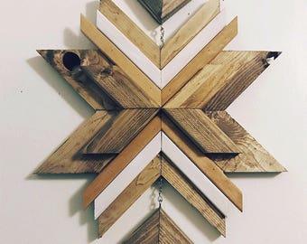 Starburst en bois suspendu