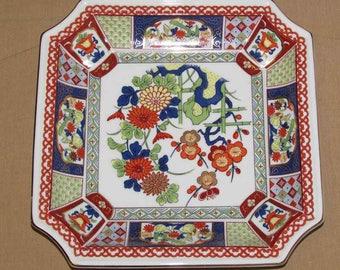 Vintage Japanese art plate ARG Imari seymore Mann
