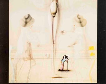 Paul Wunderlich-Galerie Octave Negru-1976 Poster