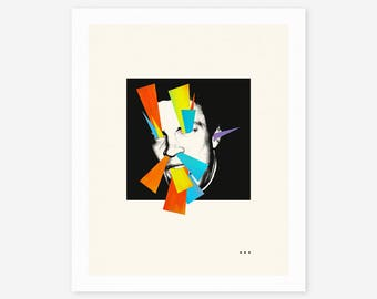 WITCHCRAFT 2 (Giclée Fine Art Print/Photo Print/Poster Print) Abstract Collage