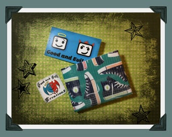 Chucks, All Star, Good and Evil Creations, Sneakers, Duct tape wallet,