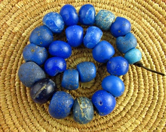 Antique Dutch/Dogon Glass Beads
