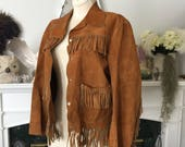 40s Fringed Leather Trail Buster Jacket