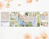 Facebook Cover Template for Photographers, Facebook Timeline Cover Template Photoshop, Facebook Cover Photo, Facebook Header Template  FB200