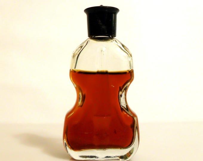 Vintage Perfume 1960s Tabu by Dana 0.5 oz Eau de Cologne Splash Violin Bottle Classic Women's Fragrance